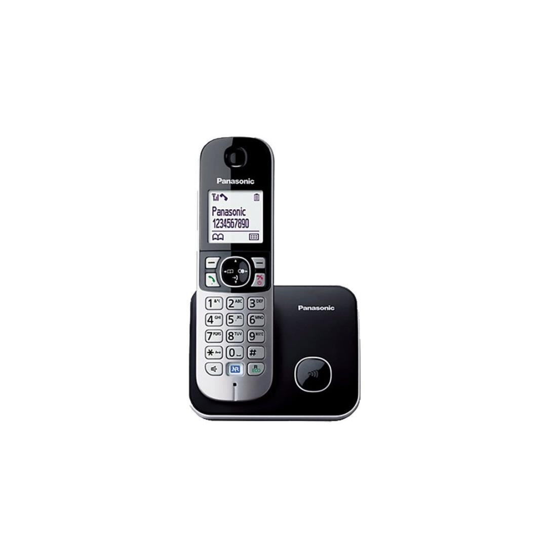 PANASONIC KX-TG 6811 DECT TELEFON SİYAH