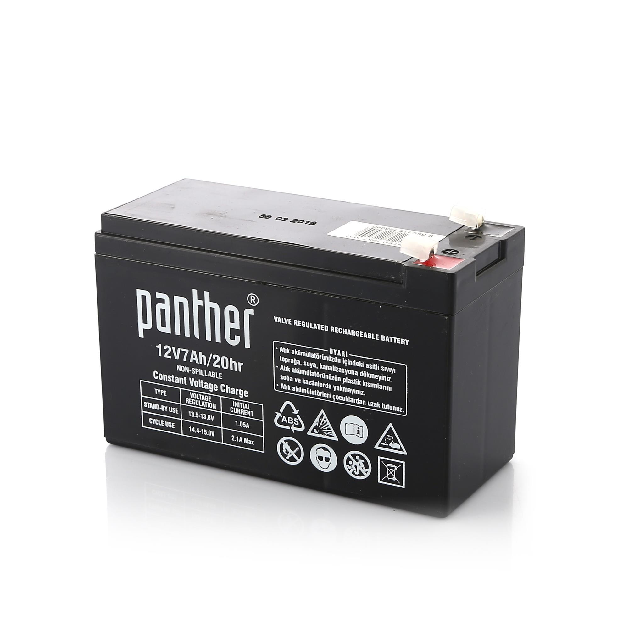 PANTHER 12V 7 AH AKÜ (10)