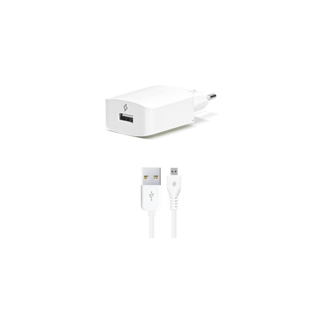 T.TEC 2SCS01 2.1A USB SEY.ŞARJ CİH.+MIC.USB KABLO