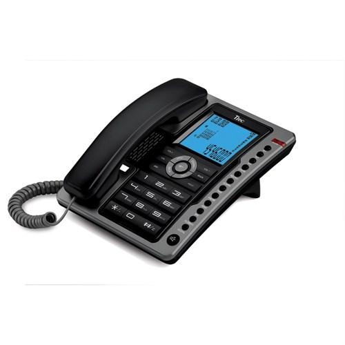 T.TEC TK6101 MASA ÜSTÜ TELEFON SİYAH-A.GÜMÜŞ
