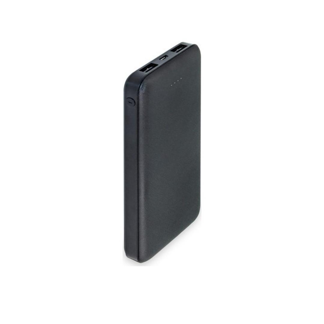DEXIM DCA0011-B SİYAH 10.000 MAH 2 USB POWERBANK