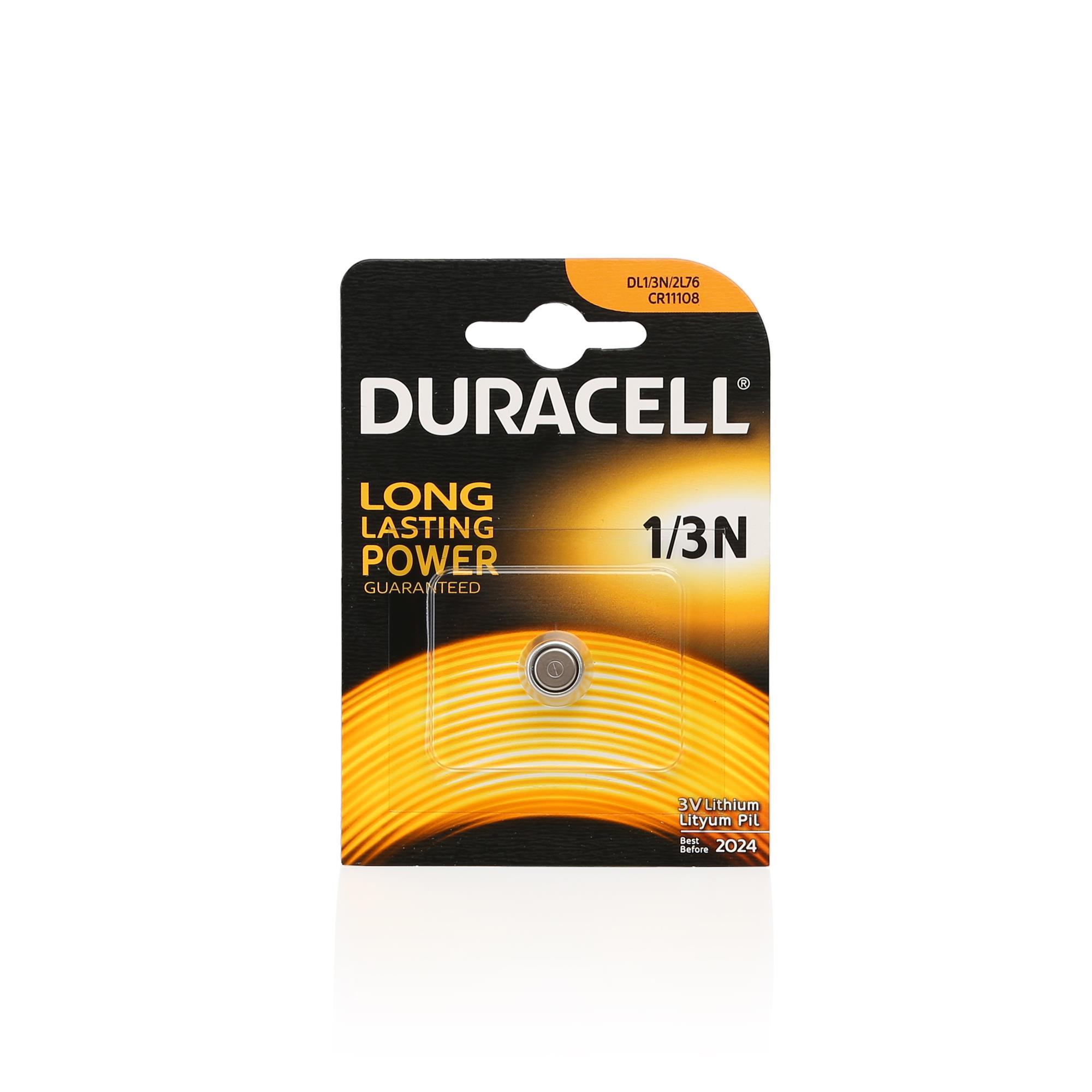 DURACELL 1/3N-2L76-CR11108 LITHIUM 3V PİL 1Lİ