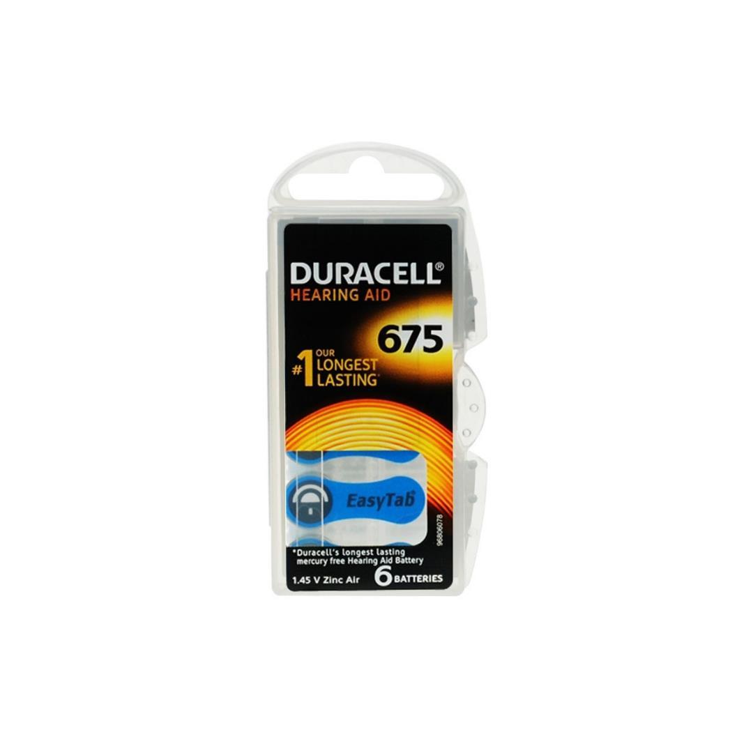 DURACELL ACTIVAIR 675 KULAKLIK PİLİ 6LI