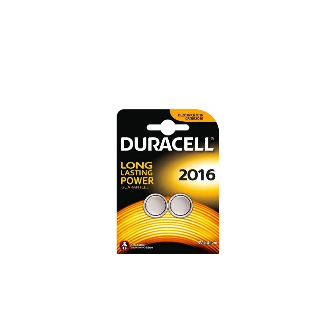 DURACELL CR2016 LITHIUM 3V PİL 2Lİ