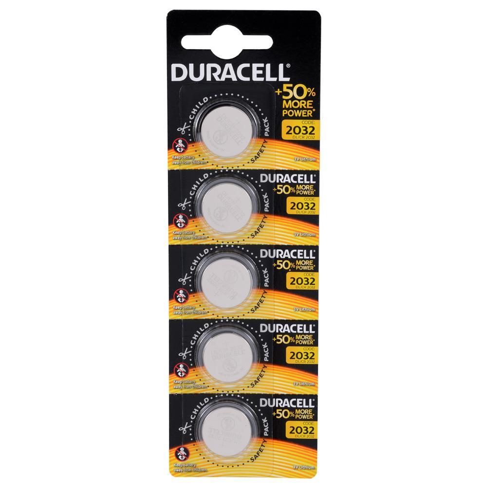 DURACELL CR2032 LITHIUM 3V PİL 5Lİ