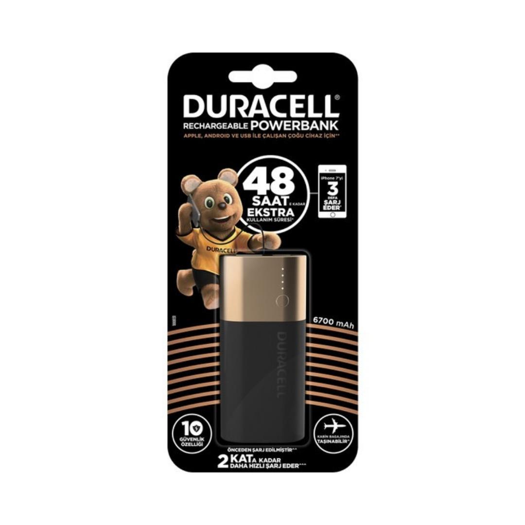 DURACELL PB2 6700 MAH POWERBANK