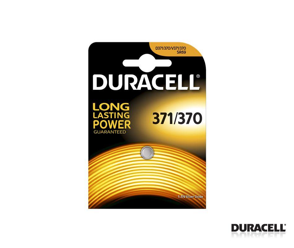 DURACELL SILVER 371/370 TEKLİ SAAT PİLİ