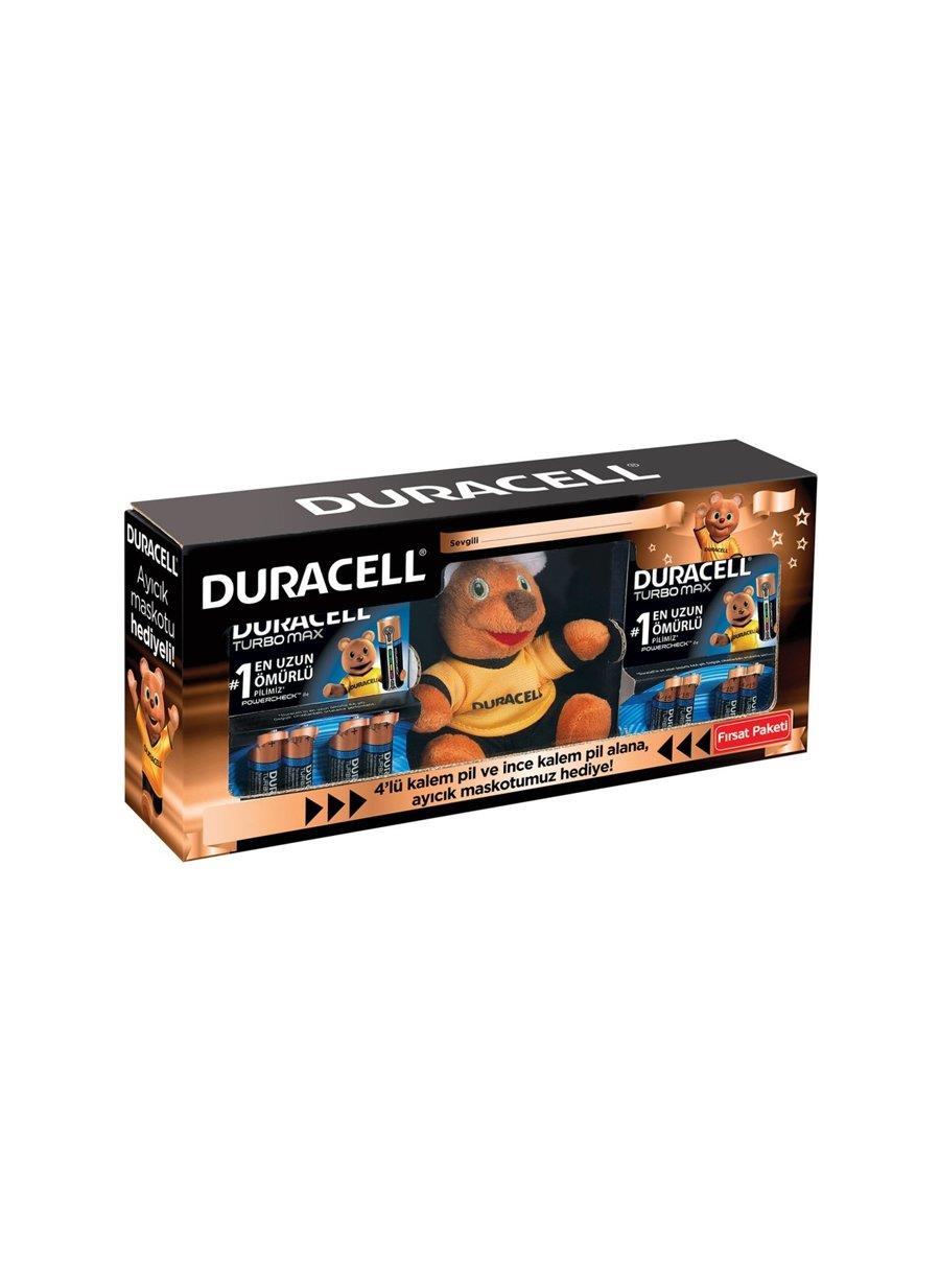 DURACELL TURBO AA 4LÜ PİL+AAA 4LÜ PİL AYICIK SETİ