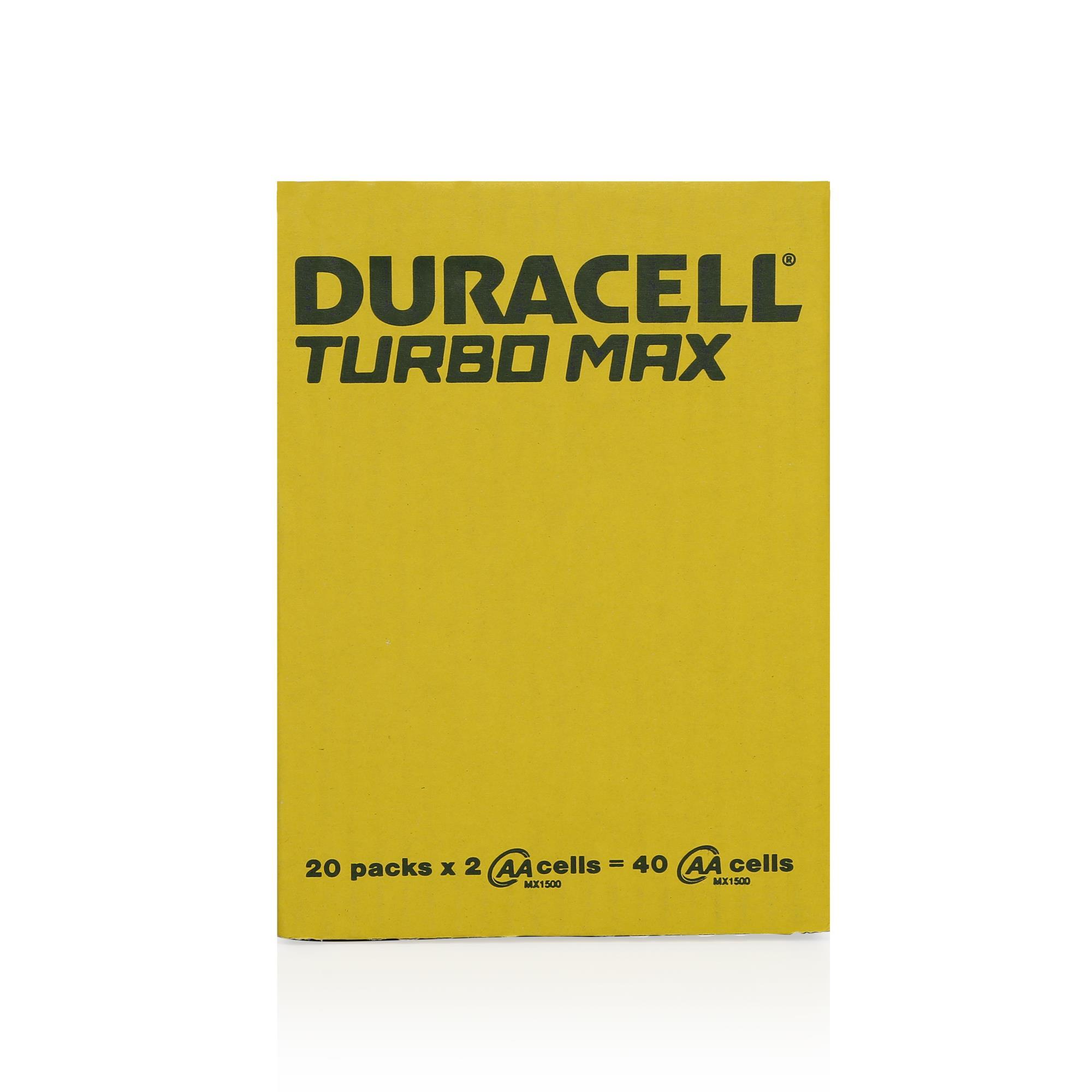 DURACELL TURBO MAX AA KALEM PİL 2Lİ