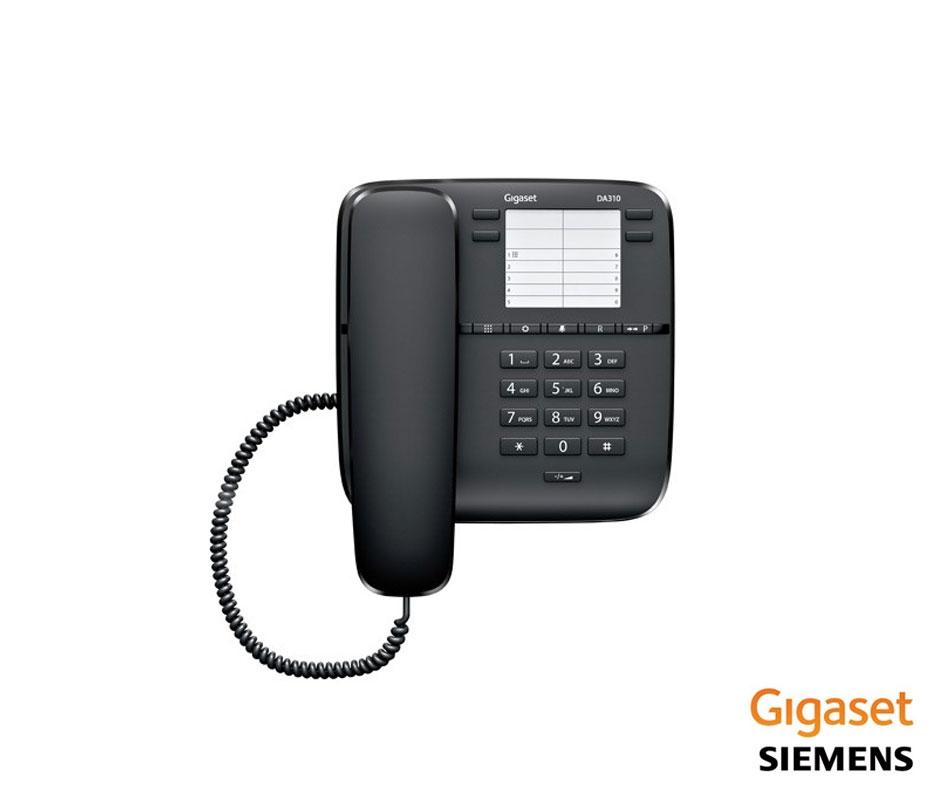 GIGASET DA310 KABLOLU TELEFON SİYAH