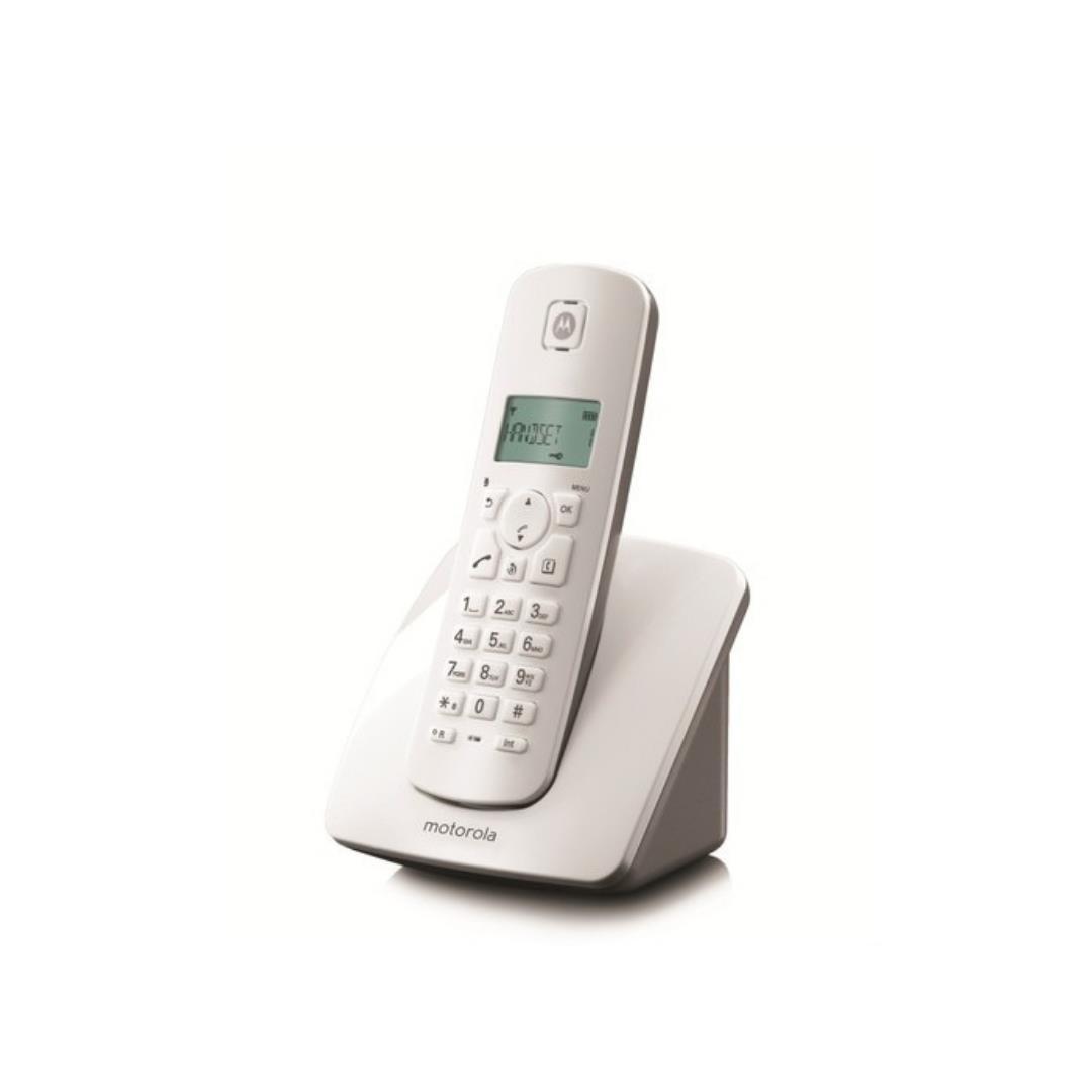 MOTOROLA C 401 E DECT TELEFON BEYAZ