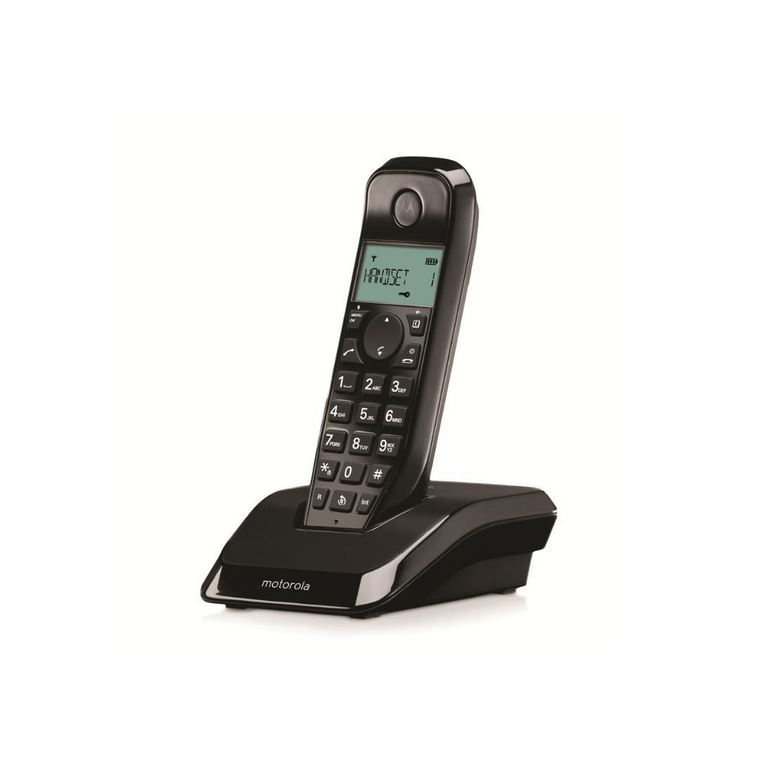 MOTOROLA S 1001 T DECT TELEFON SİYAH