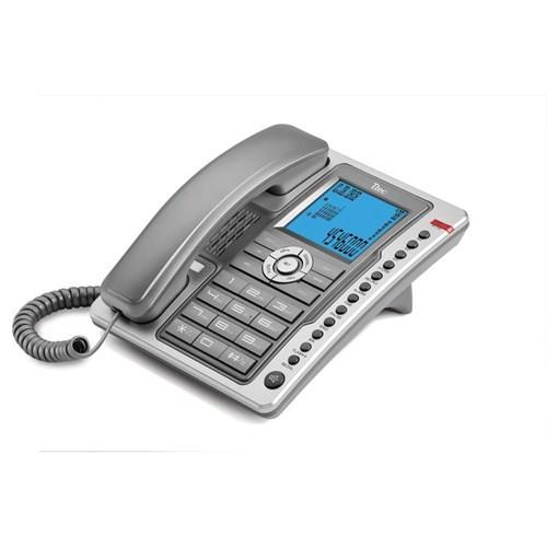 T.TEC TK6101 MASA ÜSTÜ TELEFON TİTAN.-A.GÜMÜŞ
