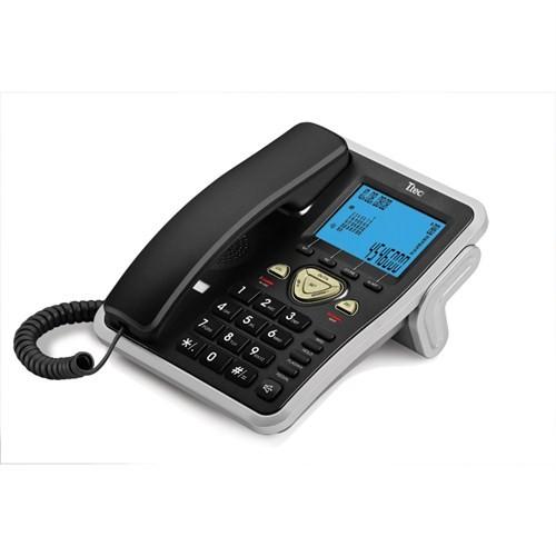 T.TEC TK6105 MASA ÜSTÜ TELEFON SİYAH-GÜMÜŞ