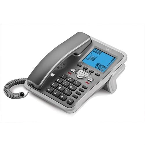 T.TEC TK6105 MASA ÜSTÜ TELEFON TİTANYUM-GÜMÜŞ