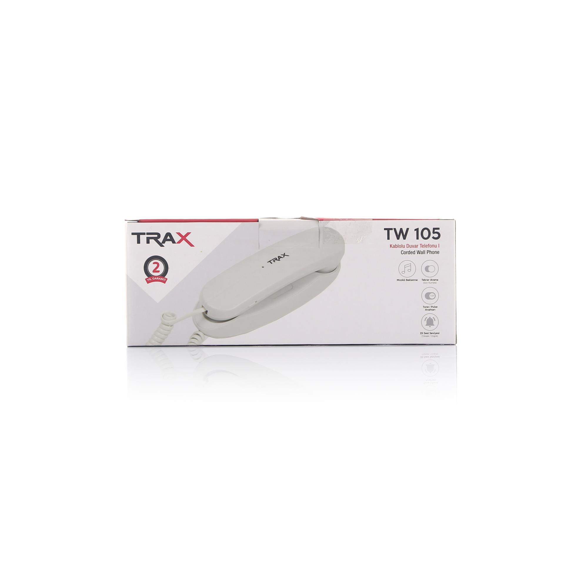 TRAX TW 105 DUVAR TELEFONU