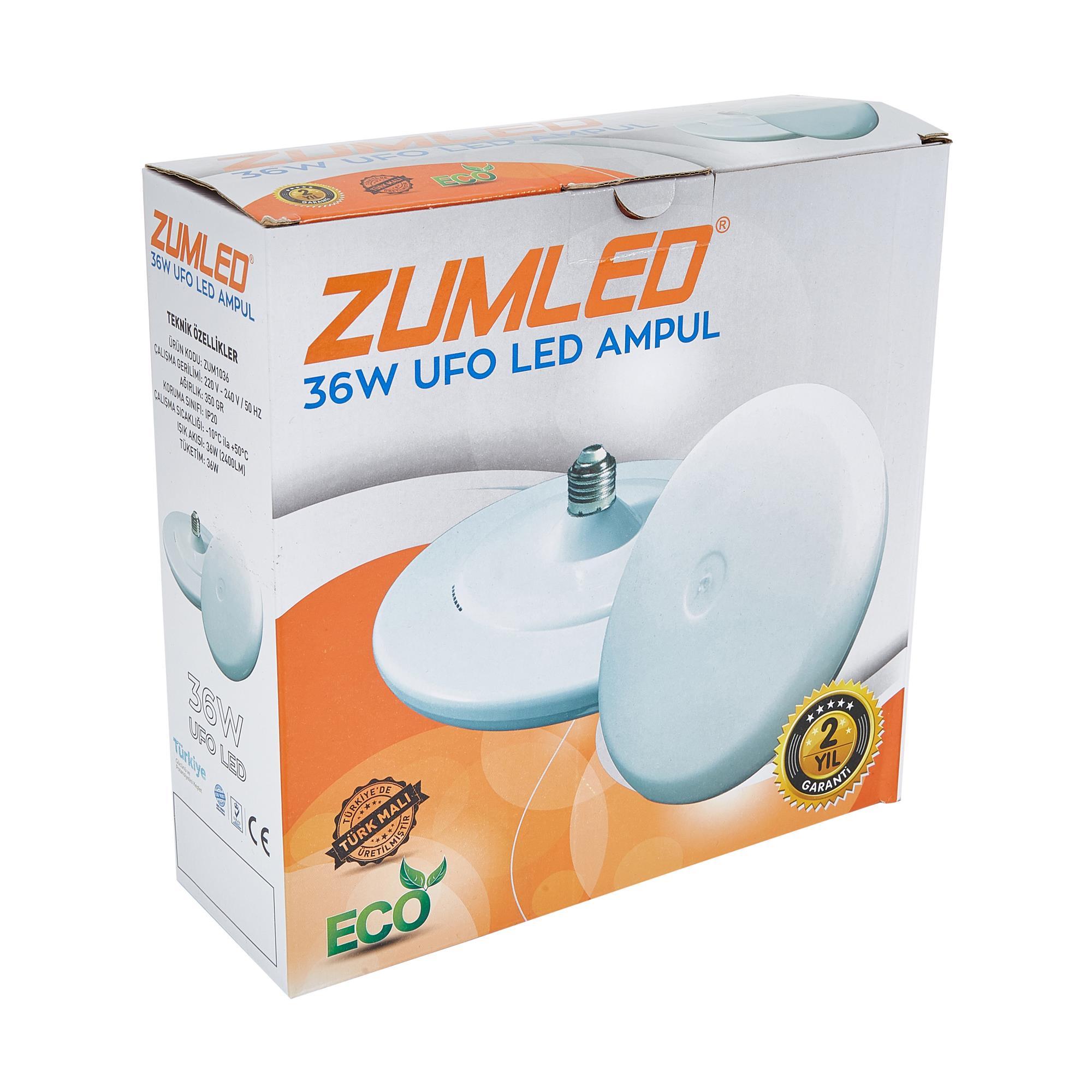 ZUMLED ZUM-TR 36W UFO LED AMPUL